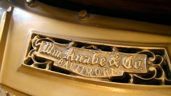 William Knabe and Company maker's mark