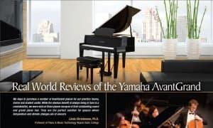 Yamaha AvantGrand Bragging Rights