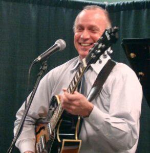 Bob Teague on guitar