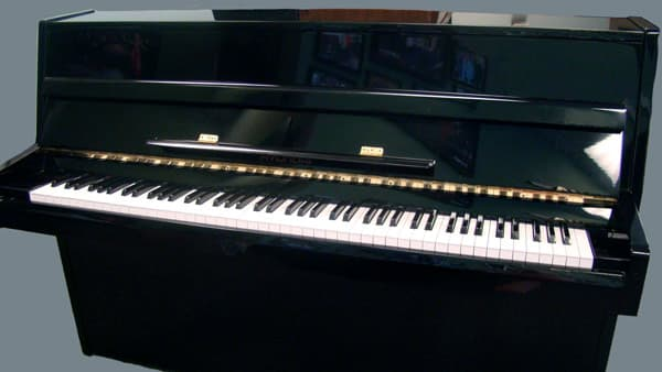 Pre Owned Hyundai Polished Ebony Great Starter Piano