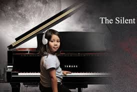 "How does the Yamaha ""Silent Piano"" make learning easier?"