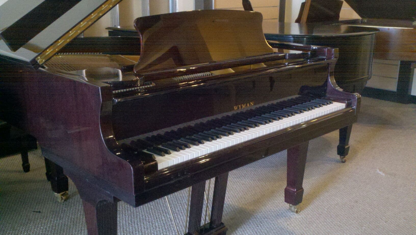Feature Quot Used Quot Piano Wyman Grand Miller Piano