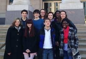 Nashville School of the Arts Students – high tech!