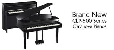 The New Yamaha CLP Clavinova's have arrived!