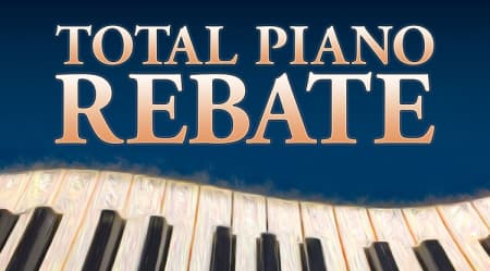 "Yamaha Pianos – ""INSTANT REBATE"" – ENDS MARCH 31ST!"