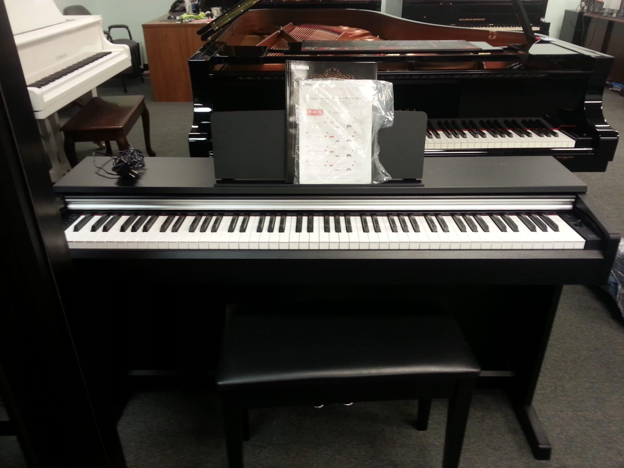 yamaha ydp 142 arius digital piano sold miller. Black Bedroom Furniture Sets. Home Design Ideas