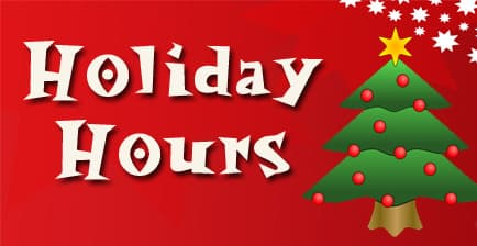 sunday holiday hours