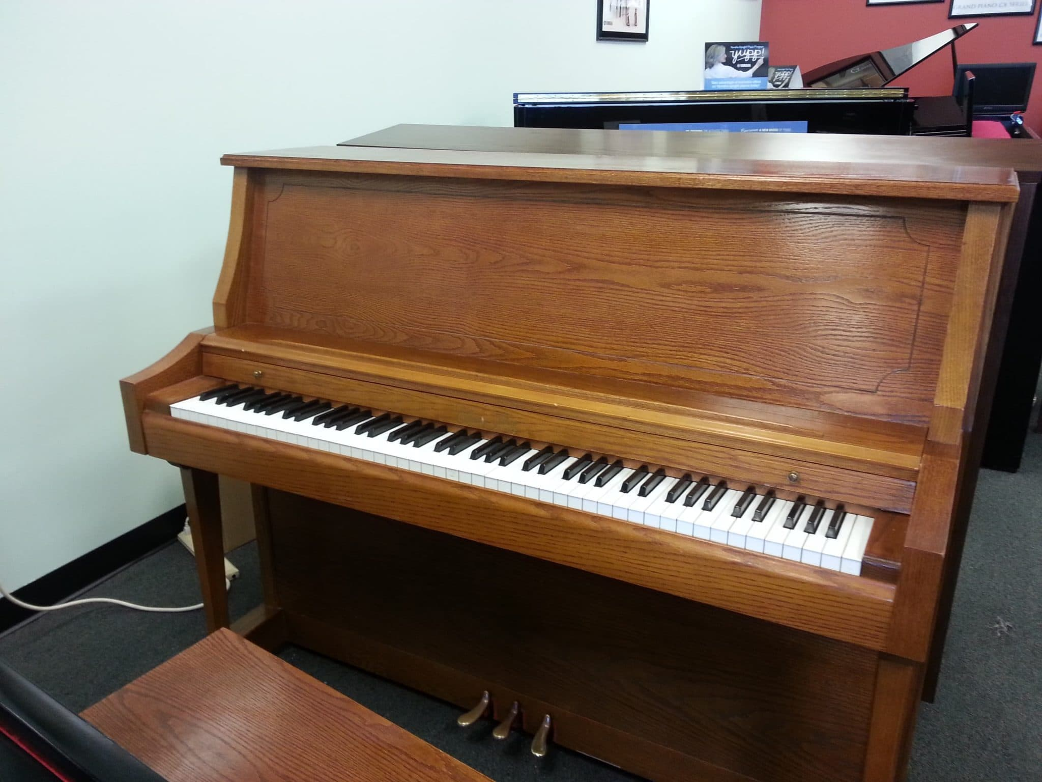 Classic studio pre loved piano just arrived miller for Classic house piano
