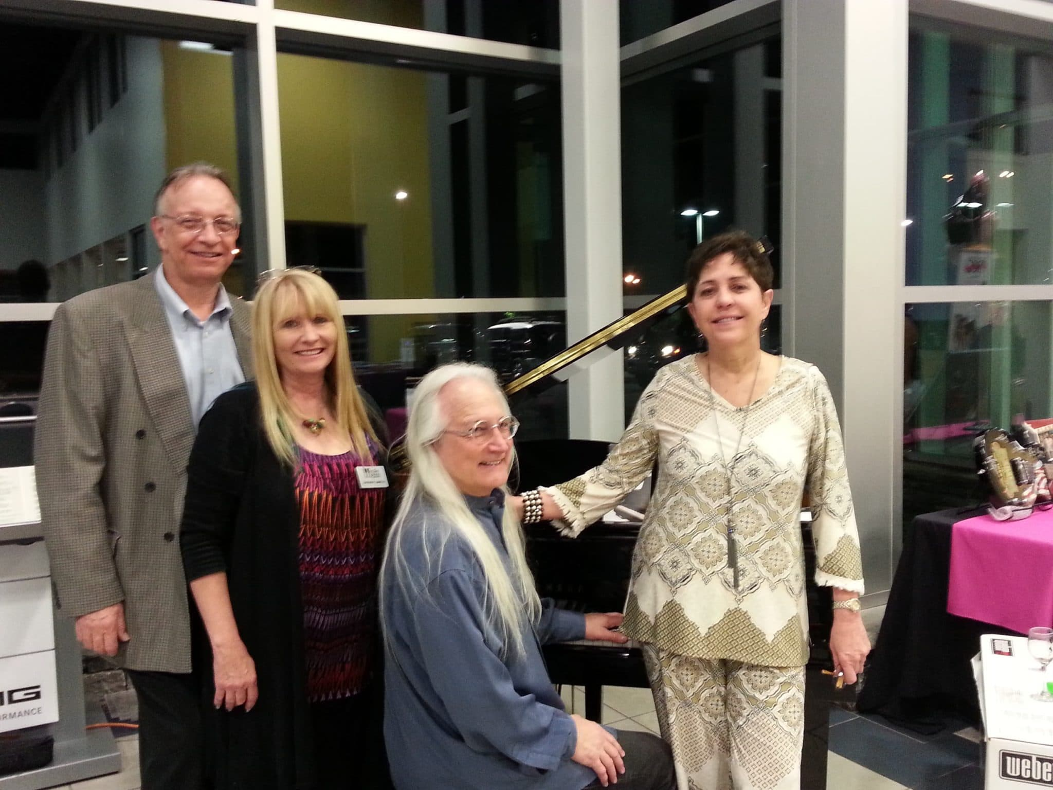 Wonderful Miller Piano Specialists Was At Mercedes Benz Of Nashville For The TBCC  Benefit Friday, ...