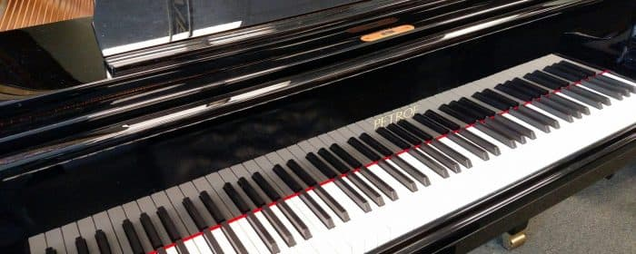 Just ARRIVED…..Petrof – hand made piano 6'4″