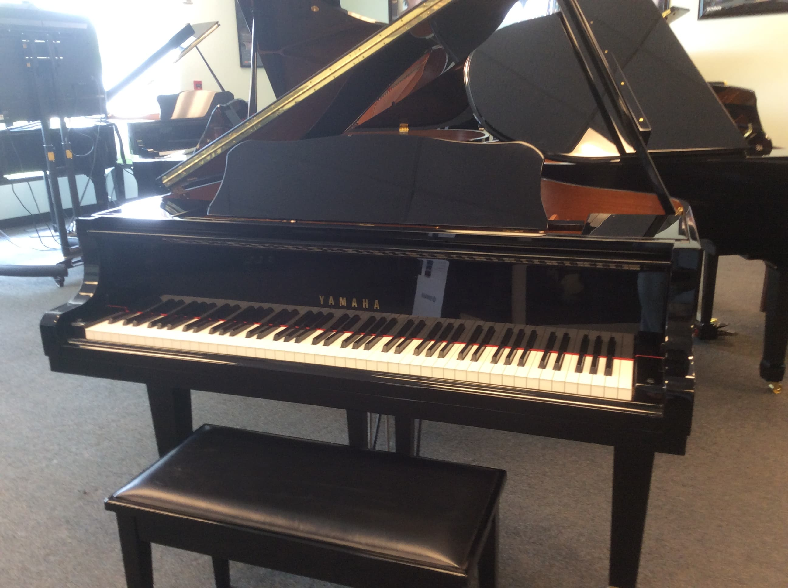 Yamaha baby grand sold fast miller piano specialists for Yamaha baby grand piano used