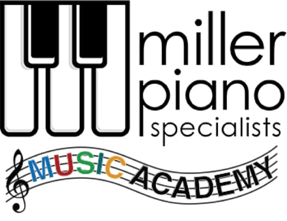 Music Acedemy at Miller Piano Specialists Logo.