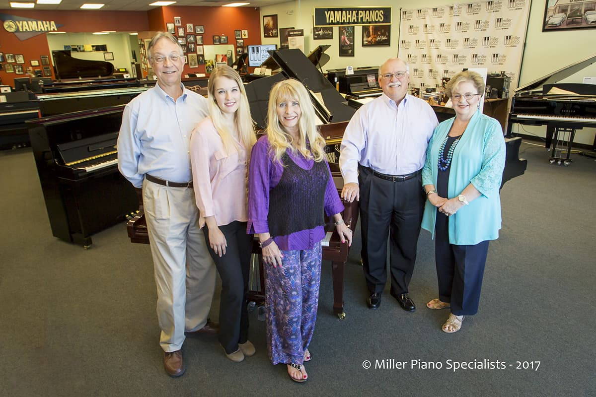 NEW Miller Piano Specialists STAFF PIC