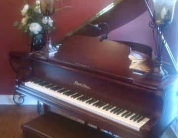 "Pearl River baby grand – ""SOLD"""