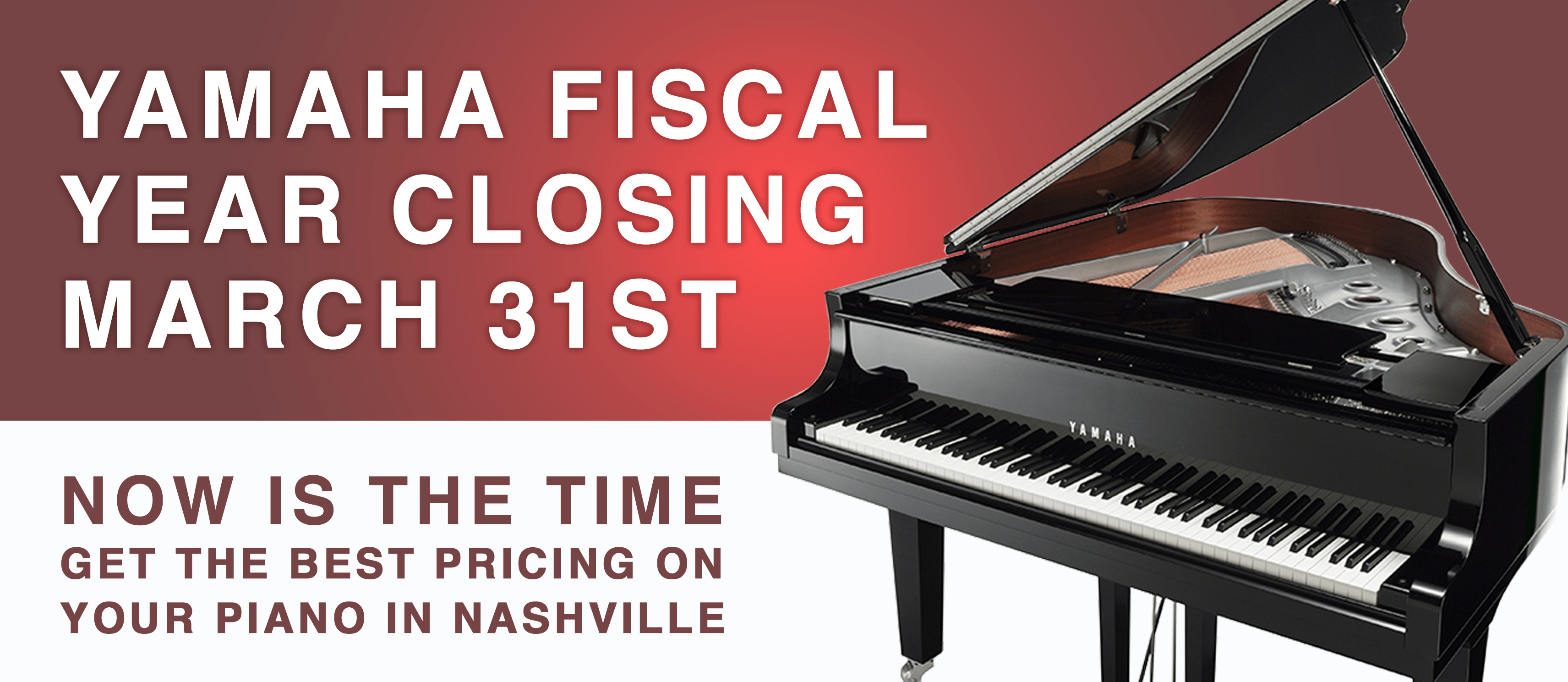 2018 Fiscal Year End Sale - closing March 31 2018
