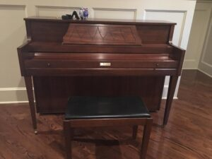 Becker Console SOLD!   Miller Piano Specialists