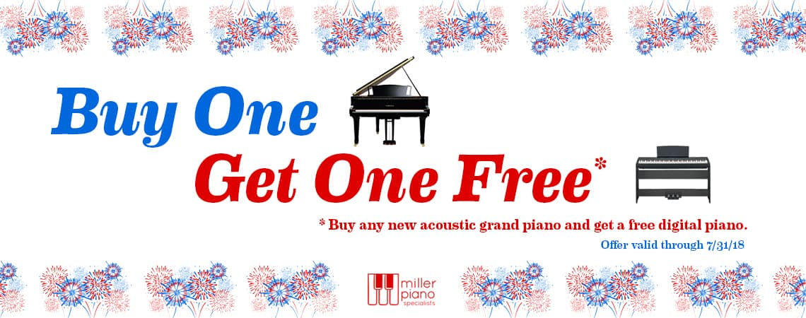 July Promotion Buy One Get One Free