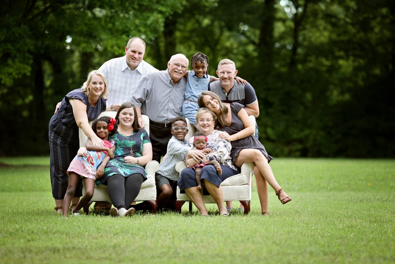 About Us - The Miller Family Photo