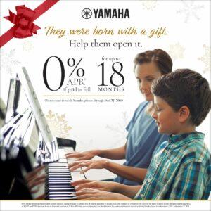 Yamaha Red Envelope 0% APR Promotion