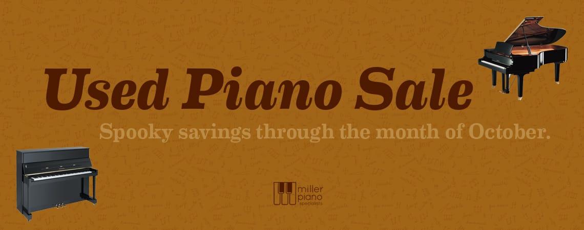 Used Piano Sale