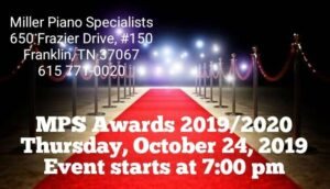 mps award banner. Awards ceremony will be on October 24, 2019 and will start at 7pm