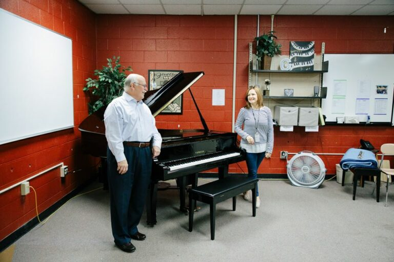 Nashville School of the Arts receives a Yamaha DS5X EN Pro!