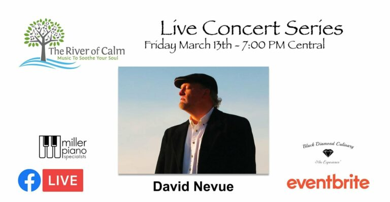 """David Nevue """"live streaming concert and interview"""""""