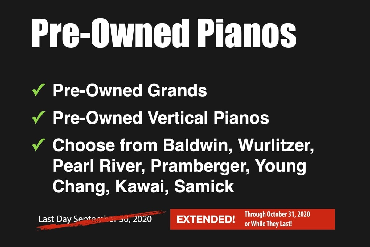 Used Pianos in Stock