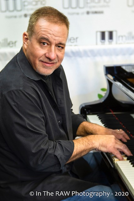Dino Pastin, an instructor at the Miller Piano Music Academy