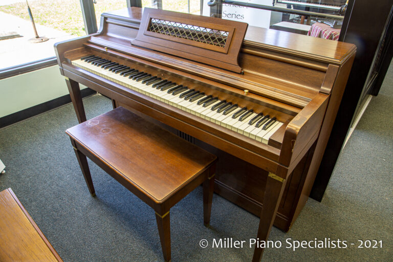 Wurlitzer Spinet at Miller Piano Specialists